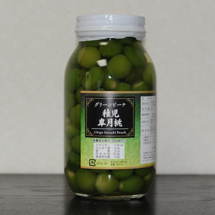 若桃甘露煮(シラップ漬け)